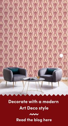 6 Art Deco Wallpapers To Create A Luxurious Interior Art Deco Wallpaper, Luxury Wallpaper, Modern Wallpaper, Living Room Themes, Modern Art Deco, Chrysler Building, Art Deco Design, Luxury Interior, Classic Style