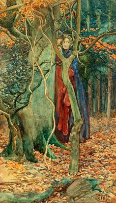 The Secret ~ Eleanor Fortescue Brickdale ~ (English: 1871-1945)