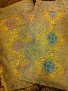 Filip + Inna http://www.filipinna.com hand embroidery by T'boli tribe women