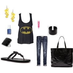 Be Batman :), created by kwaldrep on Polyvore