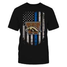 Western Michigan Broncos T-Shirt, Western Michigan Broncos Official Apparel - this licensed gear is the perfect clothing for fans Available for a Limited Time Only. Guaranteed safe checkout: PAYPAL | VISA | MASTERCARD Click ADD TO CART To Order Yours!  The Western Michigan Broncos Collection, OFFICIAL MERCHANDISE  Available Products:          Gildan Unisex T-Shirt - $27.95 Gildan Women's T-Shirt - $29.95 Next Level Women's Premium Racerback Tank - $29.95 Gildan Unisex Pullover Hoodie…
