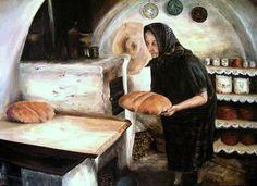 Petőfi Sándor: Fekete kenyér  Miért aggódol, lelkem jó anyám, hogy kenyeretek barna, e miatt? Hisz meglehet: ha nincs idehaza, tán fehérebb kenyérrel él fiad.  De semmi az! csak add elém, anyám, bármilyen barna is az a kenyér. Itthon sokkal jobb ízű énnekem a fekete, mint máshol a fehér.  (Kép: Hornok Magdolna munkája)