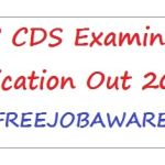 UPSC CDS Examination Notification Out 2015.JPG