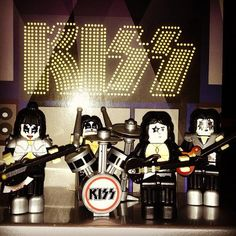 KISS Lego-like miniatures