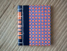 vintage hand made journal // hard bound journal by ericmbaral, $23.00