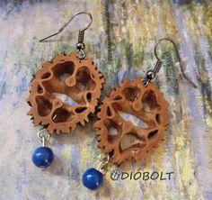 Black walnut earring