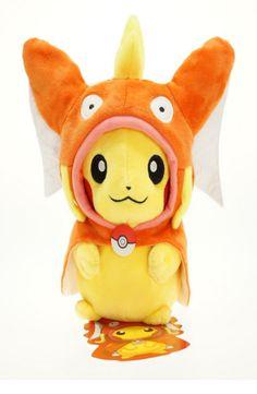 Ultra Rare Magikarp Pikachu Plush Doll