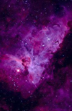 Carina Nebula Galaxy Violet