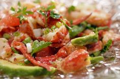 Get Laura Calder's Lobster and Grapefruit Salad Recipe from Cooking Channel