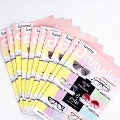 Vitrine Opticiens Maurice Frères - avril 2018 : Casting de tendances - le magazine offert en magasin #opticiens #opticien #opticienindependant #lunettes #glasses #vitrines #windows #magazine #mode #tendances #mauricefreres #opticiensmauricefreres