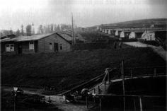 Barracks at Natzweiler-Struthof prior to its destruction in 1954.