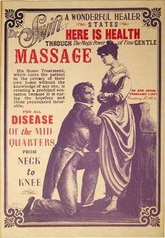 Vintage Ad - Dr Swift's Massage at Circle KB Cowboy Gear Vintage Humor, Weird Vintage Ads, Vintage Posters, Old Advertisements, Retro Advertising, Retro Ads, Funny Ads, Vintage Medical, Medical History
