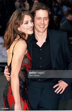 1999: Hugh Grant & Elizabeth Hurley Attend The World Charity Premiere Of 'Notting Hill'.