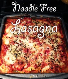 Noodle-Free Lasagna | 29 Tasty Vegetarian Paleo Recipes