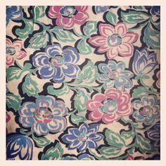 1940's fabric - @donnaflower- #webstagram