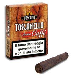 #Toscanello aromatizzato #Caffè #Sigari