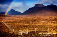 Rainbow over Stac Pollaidh