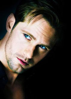 Alexander Skarsgard AKA Eric Northman from True Blood.oh mylanta.i think i am in heat.