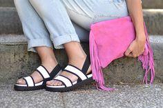 sandali bianco nero nr rapisardi - black white sandals