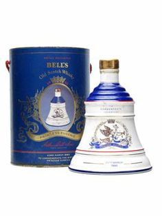 Bell's Princess Eugenie / Blended Scotch Whisky A ceramic Bell's decanter produced to celebrate the birth of the Duke and Duchess of York's second child, the Princess Eugenie, in Whiskey Bottle, Spirit Drink, Eugenie Of York, Ceramic Jars, Princess Eugenie, Scotch Whisky, Alcoholic Drinks, Drinks Alcohol, Tinkerbell