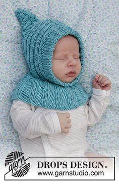Dagens gratisoppskrift: Baby Legolas | Strikkeoppskrift.com Baby Patterns, Knitting Patterns Free, Free Knitting, Crochet Patterns, Legolas, Drops Design, Baby Hats Knitting, Knitted Hats, Crochet Baby