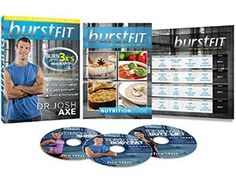BurstFIT: Dr. Josh Axe's Complete Home Fitness Workout DVD Program - Top 10 Best Lose-Weight Workout DVDs for Men in 2016 Reviews