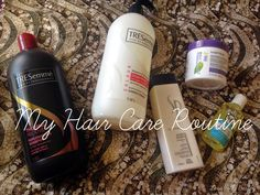 My hair care routine - haircare products for thick hair! Lena Talks Beauty