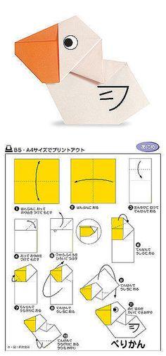 origamipelican