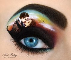Eye Makeup Art Sees The World In (And Upon) Israeli Artist Tal Peleg's Eyes | Unique Hunters