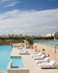 Moorish-style retreat on Puglia's east coast, with a stunning spa, a locavore restaurant and an impressive tiered pool.