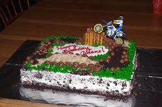 Aidan's dirt bike cake (complete)