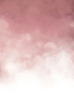 Pink clouds, poster