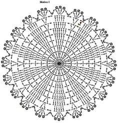 Crochet Patterns Filet, Crochet Doily Rug, Crochet Cup Cozy, Crochet Carpet, Crochet Circles, Crochet Motifs, Crochet Tablecloth, Crochet Flower Patterns, Crochet Diagram
