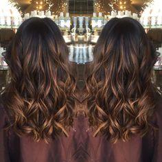 Thin Caramel Highlights For Black Hair