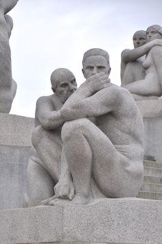 Vigeland Sculpture Park, Oslo, Norway