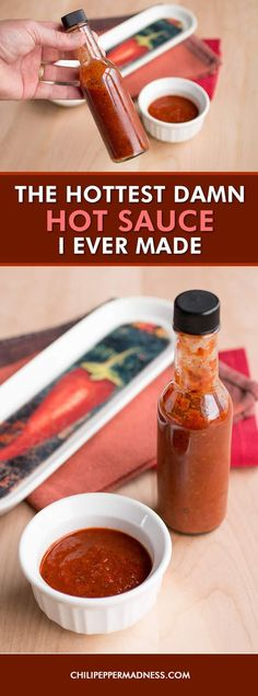 The Hottest Damn Hot Sauce I Ever Made - Recipe