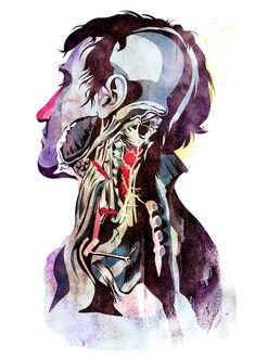 I don't know but this is cool. Anatomy + colour scheme + cartoony style (Alvaro Tapia Hidalgo)