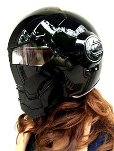 Luusama Motorcycle And Helmet Blog News: Luusama's Masei 610 Atomic-Man Motorcycle Harley Davidson DOT Helmet in Full Silver and Black