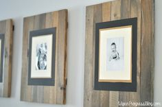 DIY Picture Frame | WifeinProgressBlog.com