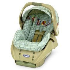 Infant car seat safety guidelines