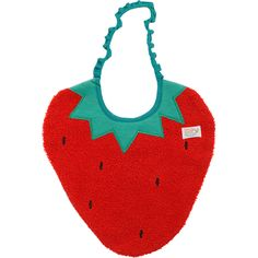 Strawberry Bib | Zigozago $28