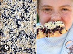 Borůvkový koláč sdrobenkou bez kynutí – SLEPIČÁRNA Oatmeal, Bread, Cooking, Breakfast, Food, Cucina, Breakfast Cafe, Kochen, Essen