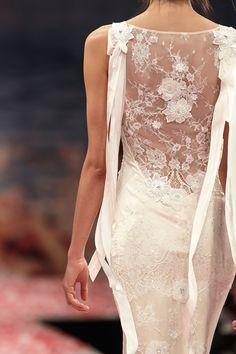 Claire Pettibone - lace cutout back