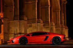 Lamborghini Aventador side view :]