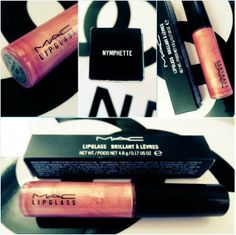 Lipgloss Is My Drug: MAC Nymphette Tinted Lipgloss