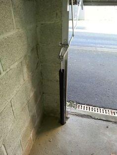 Porte de garage en bois deco pinterest garage for Porte et fenetre sabourin st clet