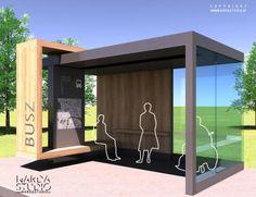 Dennis saved to bohemianNardastudio - Bushaltestelle - Temporary Architecture, Landscape Architecture, Architecture Design, Urban Furniture, Street Furniture, Rack Velo, Bus Stop Design, Urban Design Concept, Bus Shelters
