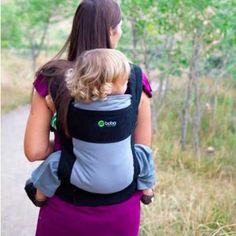 La mochila portabebés de la marca Boba con la que podrás transportar al peque de la forma más cómoda.