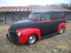 1949 CHEVY PANEL TRUCK WAGON