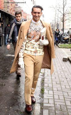 metrosexual men street style Simone Marchetti